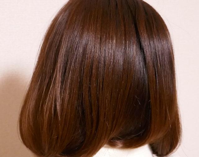 ラサーナプレミオール使用後髪画像